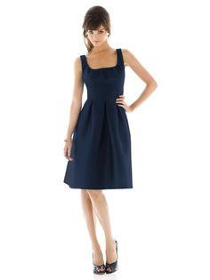 #dessy♥weddingchicks  Navy bridesmaid dress