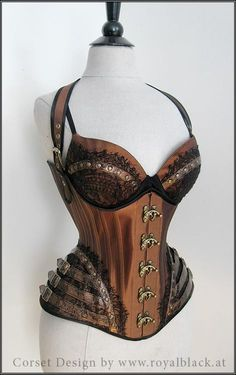 """""""Rusty Romance"""" - Royal Black Couture and Corsetry"""