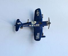 Collectible Corsair Diecast Metal Toy Airplane by Zylmex, wheels turn Airplane Toys, Airplanes, F4u Corsair, Metal Toys, Childhood Toys, Diecast, The Past, Wheels, Collection