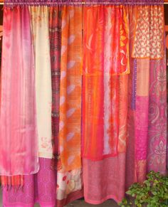 JOURNEY to JAIPUR Bohemian Gypsy Curtains by BabylonSisters