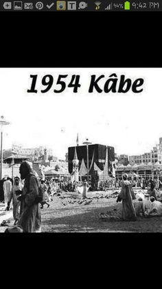 Old pic of kaabah