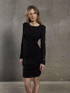 Black Gestuz Dress - Mood Webshop