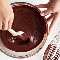 This recipe (which can easily be multiplied) is the base for Apricot and Ganache Tartlets, Chocolate Cakes with Ganache Glaze, Mini Chocolate Whoopie Pies, and Chocolate Cupcakes with Whipped Ganache.