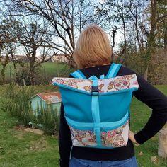 Nathalie Babin sur Instagram: Et hop un petit sac à dos. Couleurs et motifs choisis par la propriétaire. Merci à elle, pour sa confiance. Au fur et à mesure je teste des…