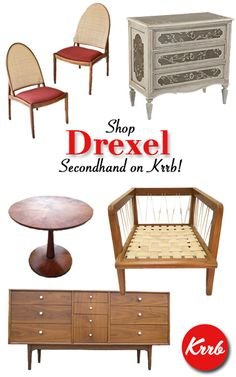 Want high-quality #Drexel furniture at secondhand prices? Head to Krrb and check out what our favorite sellers are uploading!