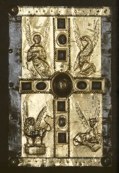 Carolingian book cover,gold 10th cent.