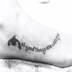 Orcas tattoo