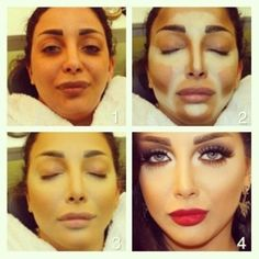 Samer Khouzami. Professional contouring, ohow to contour, contour like a boss, face shaping tutorial, jawline,