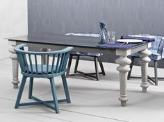 Rectangular dining table GRAY 34 Gray Collection by Gervasoni | design Paola Navone