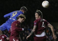 Fernando scored twice as Chelsea beat Rubin Kazan 3-1 in the first leg of the Europa League quarter-final at Stamford Bridge on Thursday night...