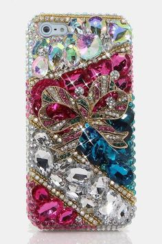 Bling Crystals Phone Case for iPhone 6 / 6s, iPhone 6 / 6s PLUS, iPhone 4, 5…
