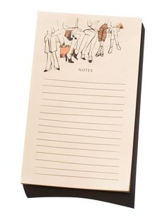 Front Row Notepad