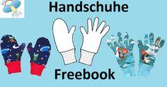 Im Winter kommt man nicht um sie herum : Handschuhe!     In diesem kostenlosen und sehr umfangreichen Tutorial möchte ich euch 3 vers...