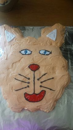 Kitty cat cupcake cake for my nieces birthday party