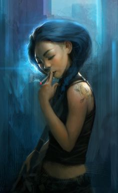 Smoking by ~clonerh on deviantART