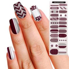 Aggie Gameday Nails!