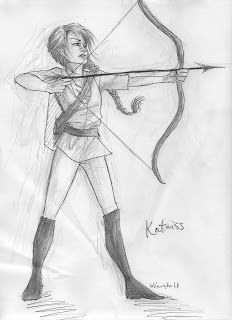 Katniss-The Mockingjay(If you read the ones about Gale and Peeta,This will be my team for ANYTHING!)