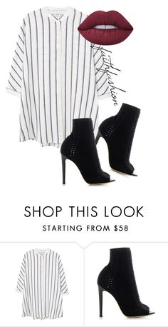 """""""Untitled #327"""" by faithfashionash on Polyvore featuring MANGO, Gianvito Rossi and Lime Crime"""