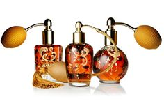 One-of-a-Kind: Caron's Hand-Painted 16K Perfume Flacons - Vogue Daily - Vogue