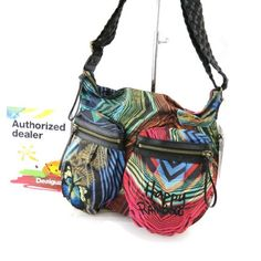 Buy New: $93.00: Hobo bag Desigual colors.  Want to make this.