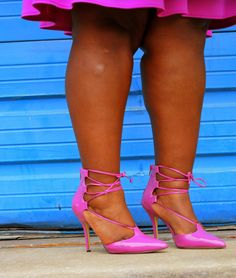Musings of a Curvy Lady: Tied Up @shoedazzle #Musingsofacurvylady #womensfashion #plussizefashion #fashionblogger @eloquii #XOQ #stripes #popofcolor #ootd #ootn
