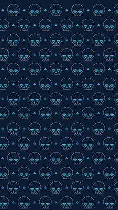 Diamonds And Skulls Pattern. Tap to see more pattern iPhone & Android wallpapers, backgrounds, fondos! - @mobile9