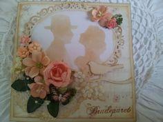 Wedding sillouettes I Card, Wedding Decorations, Frame, Blogging, A Frame, Frames, Hoop, Wedding Decor, Wedding Jewelry