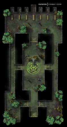 Fantasy Town, Fantasy Map, Jungle Temple, Dnd World Map, Forest Map, Building Map, Rpg Map, Map Pictures, Dungeon Maps