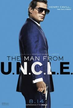 Get Your Spy on with These Classy New Character Posters for 'The Man from U.N.C.L.E.'