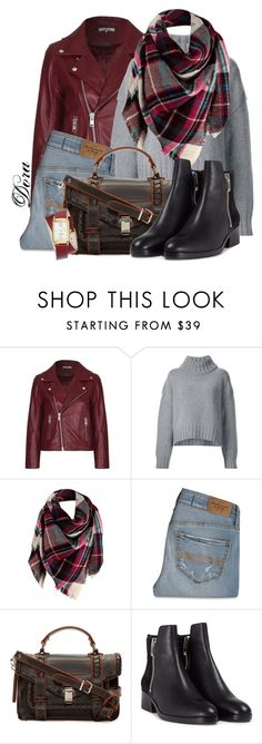 """""""Senza titolo #6190"""" by doradabrowska ❤ liked on Polyvore featuring Ganni, Sally Lapointe, Abercrombie & Fitch, Proenza Schouler, 3.1 Phillip Lim and Nine West"""