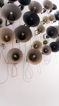 Sound Poem (Kurt Schwitters) installation by Pavel Buchler. Denver 2013.