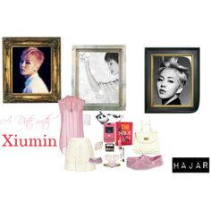 """""""A Date with Xiumin"""" by enigmaticma on Polyvore"""