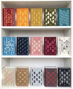 Likes, 101 Comments - Bluestocking Bookshelf Penguin Clothbound Classics, Penguin Classics, Classic Literature, Classic Books, Book Writer, Book Nerd, Books To Read, My Books, Beautiful Book Covers