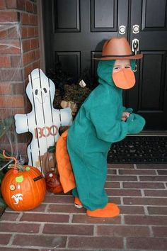 Perry the Platypus!