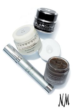 Love your skin! crazy about this Glamglow Youthmud Tinglexfoliate treatment, Chantecaille Bio Lifting Cream+, Omorovicza Thermal Cleansing Balm and Révive Line Erasing Eye Serum.