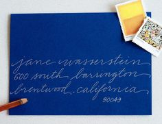 Anne Robin - Calligraphy | Anne Robin: Los Angeles Calligrapher, Hand Written Calligraphy, Wedding Invitations