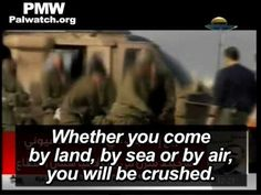 """Hamas to Israeli soldiers: """"If your eyes look [at us], they will be gouged out"""". --- Islam~the religion of peace. Obviously...."""