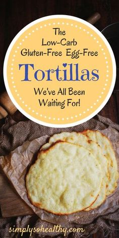 Homemade LowCarb Tortillas Recipe Simply So Healthy is part of No carb diets - These simple homemade lowcarb tortillas make delicious wraps for sandwiches and burritos They are suitable for low carb, ketogenic, Atkins, diabetic and LCHF diet Ketogenic Recipes, Low Carb Recipes, Diet Recipes, Cooking Recipes, Ketogenic Diet, Slimfast Recipes, Diabetic Recipes, Lunch Recipes, Jello Recipes
