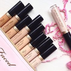Too Faced NEW Born This Way Concealers! #toofaced -  get rid of dark circles - Too Faced Cosmetics