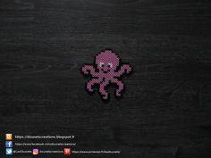 Poulpe Perles Hama / Octopus Perler Beads