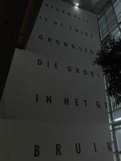 TU Delft, Kracht van letters