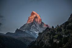 Good Morning by Rita Caluori Zermatt, Swiss Alps, Switzerland, Travel Photos, Good Morning, Trip Advisor, Mount Everest, Tourism, Photo Galleries