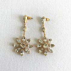 Nikki Witt Crystal Earrings