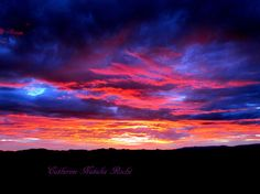 """Sunset Photography, Landscape Photography, Mountain Photography, California Photography,  """"Autumn Sunset"""" by Catherine Natalia Roché"""