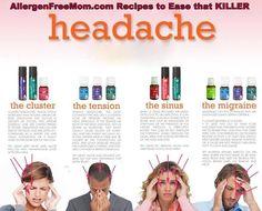 AllergenFreeMom.com: Using Essential Oils to Help Relieve Headaches