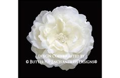 Pearl Crystal Cluster Ivory Ellabelle by ButterflyEnchantress, $39.99