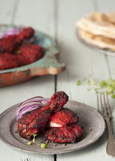 Awesomely delicious Tandoori Chicken. THE BEST!!!!