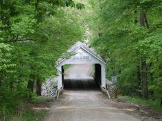Zacke Cox covered bridge -- Parke County, Indiana