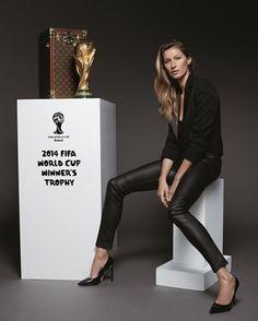 W杯決勝トロフィーケースはルイ・ヴィトン。ドイツ×アルゼンチン戦にお目見え