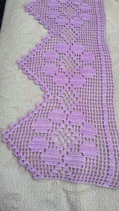 Crochet Hats Узор спицами двухсторонний для шарфа Most popular and and more The post Crochet Hats Узор спицами двухсторонний для шарфа appeared first on Gardinen ideen. Crochet Motifs, Crochet Borders, Filet Crochet, Crochet Blanket Patterns, Baby Blanket Crochet, Easy Crochet, Crochet Stitches, Knitting Patterns, Cotton Crochet